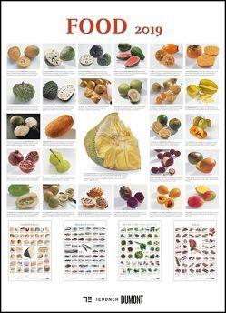 FOOD 2019 – Lebensmittel-Warenkunde – Küchen-Kalender von DUMONT– Poster-Format 49,5 x 68,5 cm von DUMONT Kalenderverlag, Teubner Edition