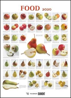 FOOD 2020 – Lebensmittel-Warenkunde – Küchen-Kalender von DUMONT– Poster-Format 49,5 x 68,5 cm von DUMONT Kalenderverlag, Teubner Edition