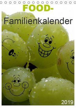 FOOD -Familienkalender (Tischkalender 2019 DIN A5 hoch) von SchnelleWelten