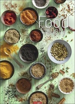 Food Gallery Kalender 2022 von Weingarten