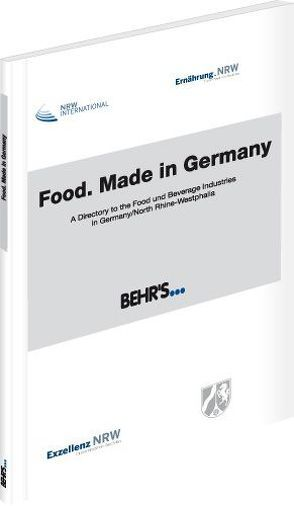 Food. Made in Germany von Strecker,  Dr. Otto A.