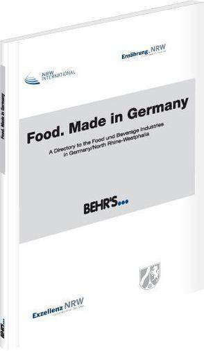 Food. Made in Germany von Strecker,  Dr. Otto A.