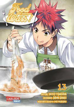 Food Wars – Shokugeki No Soma 13 von Bockel,  Antje, Saeki,  Shun, Tsukuda,  Yuto