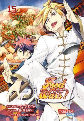 Food Wars – Shokugeki No Soma 15 von Bockel,  Antje, Saeki,  Shun, Tsukuda,  Yuto