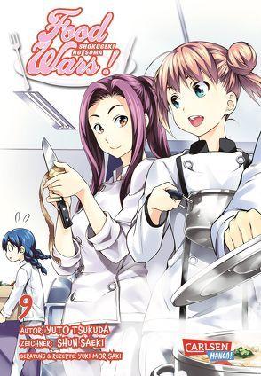 Food Wars – Shokugeki No Soma 9 von Bockel,  Antje, Saeki,  Shun, Tsukuda,  Yuto