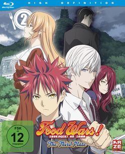 Food Wars! The Third Plate – 3. Staffel – Blu-ray 2 von Yonetani,  Yoshitomo