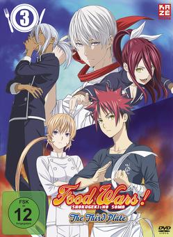 Food Wars! The Third Plate – 3. Staffel – DVD 3 von Yonetani,  Yoshitomo