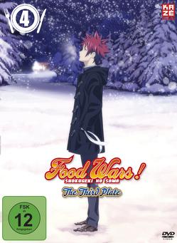 Food Wars! The Third Plate – 3. Staffel – DVD 4 von Yonetani,  Yoshitomo