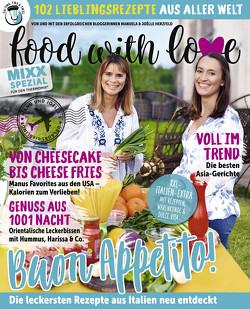 Food with Love – Lieblingsrezepte aus aller Welt von Herzfeld,  Joelle, Herzfeld,  Manuela