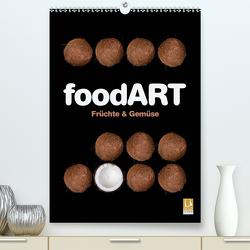 foodART – Früchte und Gemüse (Premium, hochwertiger DIN A2 Wandkalender 2021, Kunstdruck in Hochglanz) von Kraetschmer,  Marion
