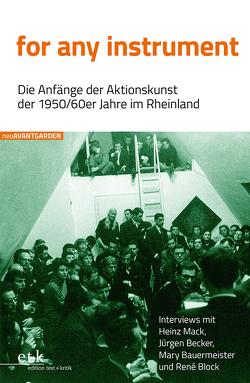 for any instrument von Beuckers,  Klaus Gereon, Friedrich,  Hans-Edwin, Hanuschek,  Sven, Korte-Beuckers,  Christine