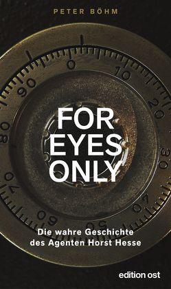 'For eyes only' von Boehm,  Peter