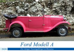 Ford Modell A – Ein rüstiger Neunzigjähriger in Havanna (Wandkalender 2020 DIN A3 quer) von von Loewis of Menar,  Henning