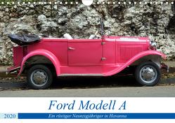 Ford Modell A – Ein rüstiger Neunzigjähriger in Havanna (Wandkalender 2020 DIN A4 quer) von von Loewis of Menar,  Henning