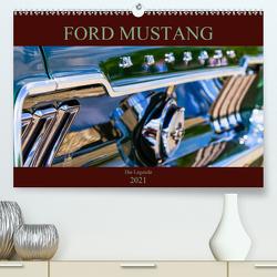 Ford Mustang – Die Legende (Premium, hochwertiger DIN A2 Wandkalender 2021, Kunstdruck in Hochglanz) von Schürholz,  Peter