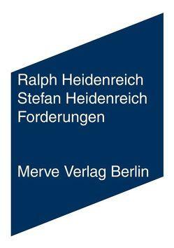 Forderungen von Heidenreich,  Ralph, Heidenreich,  Stefan