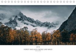 FOREST AND ALPS – BERGE UND WALD 2020 (Tischkalender 2020 DIN A5 quer) von Köhler,  Stefan