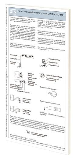 Form- und Lagetolerierung nach DIN EN ISO 1101 von Bertschat,  Harry