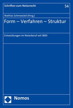 Form – Verfahren – Struktur von Schmoeckel,  Mathias