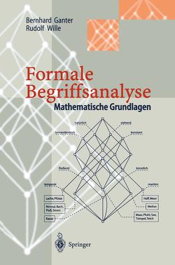 Formale Begriffsanalyse von Ganter,  Bernhard, Wille,  Rudolf