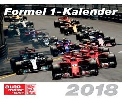 Formel 1-Kalender 2018 von Gensmantel,  Frau