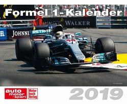 Formel 1-Kalender 2019 von Motor Presse Stuttgart GmbH & Co.KG