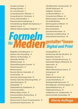 Formeln für Mediengestalter*innen Digital und Print von Paasch,  Ulrich