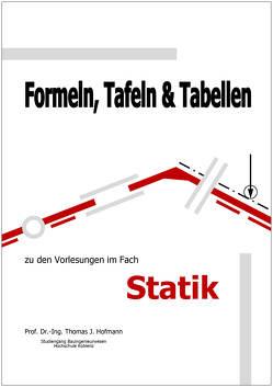 Formeln, Tafeln und Tabellen von Hofmann,  Thomas J.