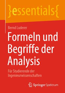 Formeln und Begriffe der Analysis von Luderer,  Bernd