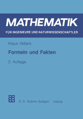 Formeln und Fakten von Vetters,  Klaus