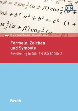 Formeln, Zeichen und Symbole von Drexler,  Franz Josef, Krystek,  Michael