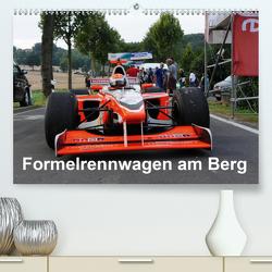 Formelrennwagen am Berg (Premium, hochwertiger DIN A2 Wandkalender 2021, Kunstdruck in Hochglanz) von von Sannowitz,  Andreas