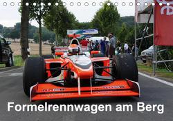 Formelrennwagen am Berg (Tischkalender 2021 DIN A5 quer) von von Sannowitz,  Andreas