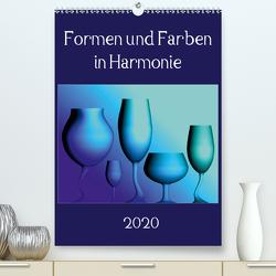 Formen und Farben in Harmonie (Premium, hochwertiger DIN A2 Wandkalender 2020, Kunstdruck in Hochglanz) von A Magri,  Maria