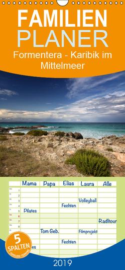 Formentera – Karibik im Mittelmeer – Familienplaner hoch (Wandkalender 2019 , 21 cm x 45 cm, hoch) von Deter,  Thomas