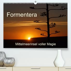 Formentera – Mittelmeerinsel voller Magie (Premium, hochwertiger DIN A2 Wandkalender 2021, Kunstdruck in Hochglanz) von Kück,  Heidemarie