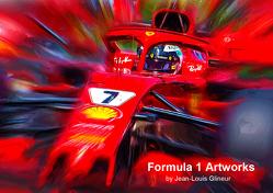 Formula 1 Artworks by Jean-Louis Glineur (Posterbuch DIN A4 quer) von Glineur alias DeVerviers,  Jean-Louis