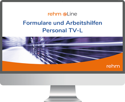 Formulare und Arbeitshilfen Personal TV-L online von Ewinger,  Hildegard, Klebau,  Marie