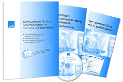 Formularmappe für einen sicheren Umgang mit Telematik und Datenschutz von Beckmann,  Julia
