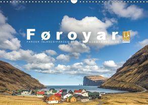 Føroyar • Faroe Islands • Färöer Inseln (Wandkalender 2018 DIN A3 quer) von Preißler,  Norman