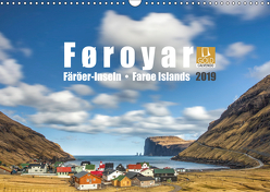 Føroyar • Faroe Islands • Färöer Inseln (Wandkalender 2019 DIN A3 quer) von Preißler,  Norman