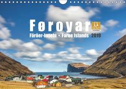Føroyar • Faroe Islands • Färöer Inseln (Wandkalender 2019 DIN A4 quer) von Preißler,  Norman