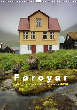 Føroyar – Faroe Islands – Färöer Inseln (Wandkalender 2019 DIN A3 hoch) von Preißler www.nopreis.de,  Norman