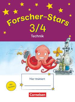 Forscher-Stars / 3./4. Schuljahr – Technik von Buntrock,  Monika, Kiesinger-Jehle,  Barbara, Menzel,  Dirk, Rebenstorff,  Heidrun