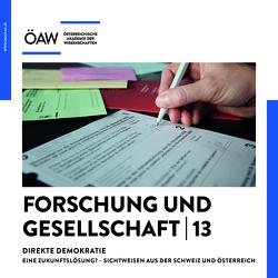 Forschung und Gesellschaft 13 von Schmitt,  Oliver Jens