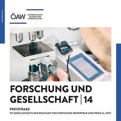 Forschung und Gesellschaft 14 von Schmitt,  Oliver Jens