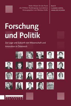 Forschung und Politik von Hüffel,  Clemens, Rohrer,  Anneliese