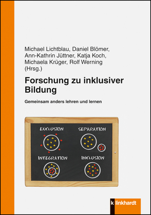 Forschung zu inklusiver Bildung von Blömer,  Daniel, Jüttner,  Ann-Kathrin, Koch,  Katja, Krüger,  Michael, Lichtblau,  Michael, Werning,  Rolf