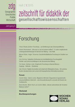 Forschung von Gautschi,  Peter, Rhode-Jüchtern,  Tilman, Sander,  Wolfgang, Weber,  Birgit