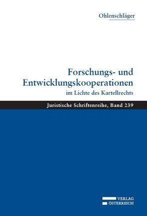 Forschungs- und Entwicklungskooperationen von Ohlenschläger,  Franz